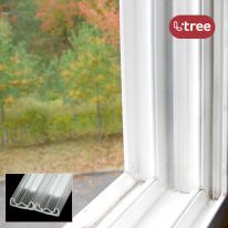 엘트리 문풍지 창문 틈새막이 W형 1.5m 2입