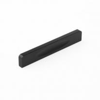 블랙 라운딩 가구 손잡이(96mm)