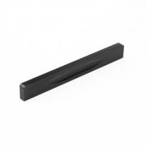 블랙 라운딩 가구 손잡이(128mm)