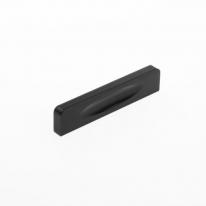 블랙 라운딩 가구 손잡이(64mm)