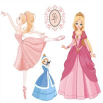 3D전사지]Happy princess-7 / 77756