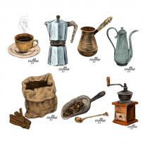3D전사지]coffee cotte-6 / 77755
