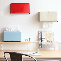 [색상추가!] 덜튼 벽걸이 티슈케이스 - 3color