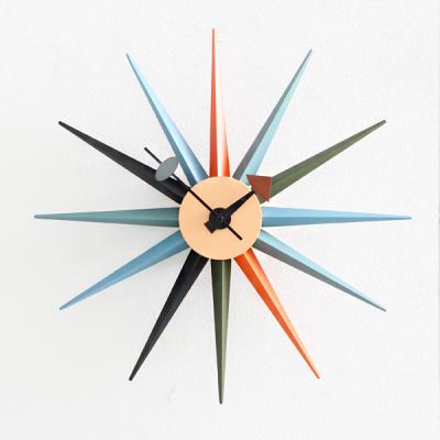 북유럽 썬버스트시계