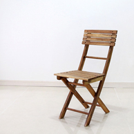 [벤트리] 원목 접이식 카페의자 [2015_acacia]