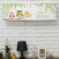 스판 벽걸이형-친절한부엉이 사이즈 5종