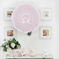 선풍기커버 패브릭 벽걸이형-케이트 연핑크