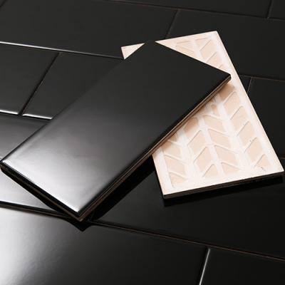 모던 블랙타일 유광 (100x200)