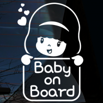 엔젤 간판 baby on board