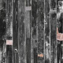 [불연] 스크랩아트 내츄럴우드 NW1-18 챠콜블랙-핑거 (1Box/2.87㎡)