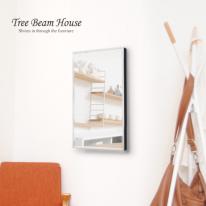 [트리빔하우스] 모던 벽 거울(소)