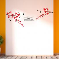 꽃가지 그래픽스티커