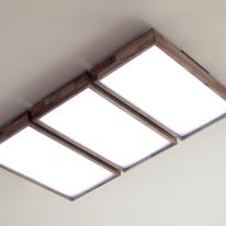 LED 아카시아 거실등 (2+2+2)