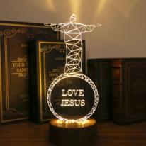 예수 LED 스탠드