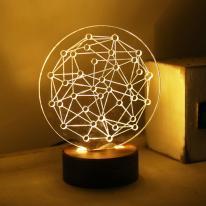 행성 LED 스탠드