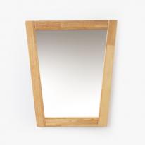 원목 삼각 거울