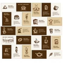 10%할인)3D전사지]Coffee Label-4 (99830)