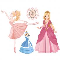 10%할인)3D전사지]Happy princess-7 (99786)