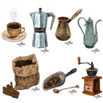 10%할인)3D전사지]coffee cotte-6 (99785)