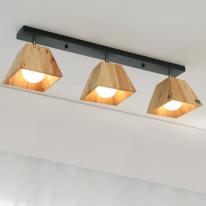 LED 트리3등 직부 (화이트&블랙)