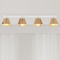 LED 트리4등 직부 (화이트&블랙)