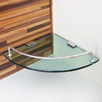 강화유리 욕실코너선반(국산)