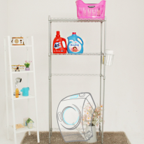 [토마톰스]메탈 세탁기선반 2단