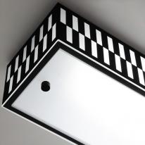 LED 스칸디 주방등(대) (블랙&화이트)