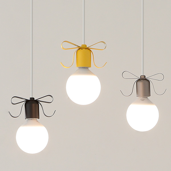LED 리본3등 펜던트-5color