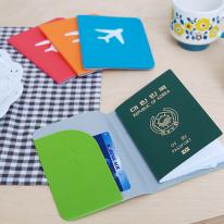 [토마톰스]컬러 여권 케이스