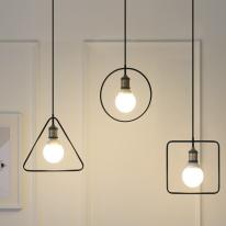 LED 프레임 3등 펜던트