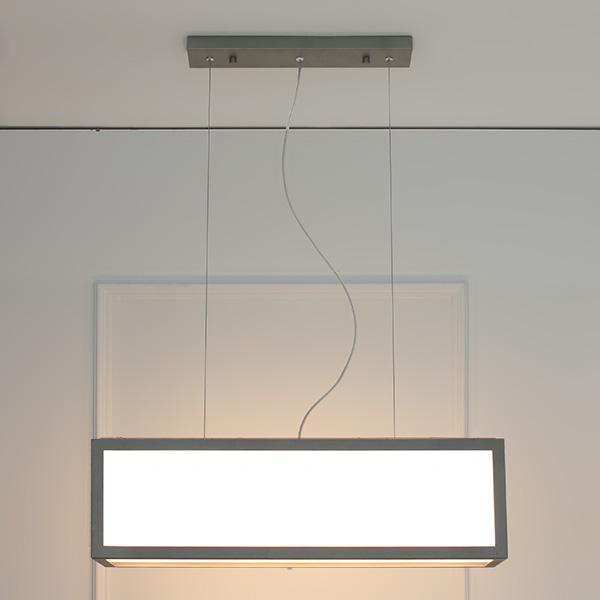 LED 브릭 3등 펜던트-그레이