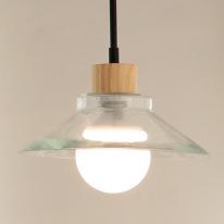 LED 레이1등 펜던트-투명유리