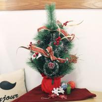 [투플레이스] 크리스마스 미니트리 60cm