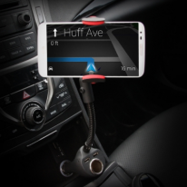 차량용 시거잭 스마트폰 거치대+충전포트(시거잭1p,usb2p)