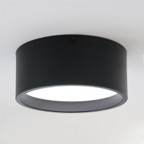 LED 케어 라운드 현관등-블랙&화이트