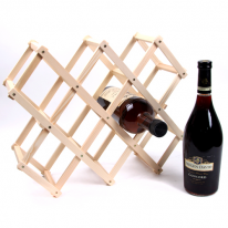 접이식 우드 와인 거치대 와인렉 -8홀