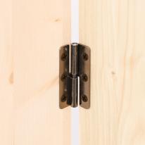 흑니켈 분리형 가구경첩 (55mm x 22mm)