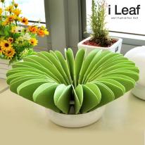 [아이리프]형태변화형 3X3 나뭇잎 자연가습기