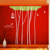 나무들 (나무6그루)