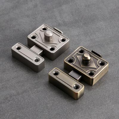 원터치 트럼프 여닫이 잠금쇠(엔틱/니켈)