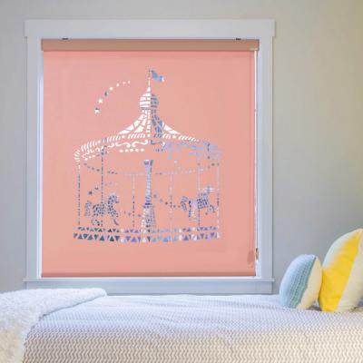 은은한 채광이 돋보이는 레이저 블라인드 메리고라운드