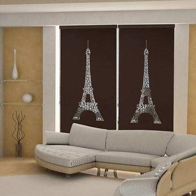 은은한 채광이 돋보이는 레이저 블라인드 에펠탑