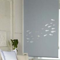은은한 채광이 돋보이는 레이저 블라인드 물고기