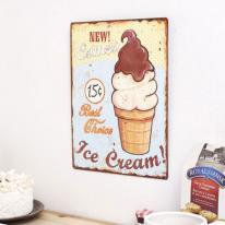 [2HOT] 쵸코 아이스크림 틴 사인보드