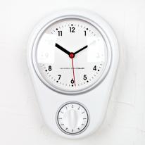 (kmj001)저소음키친타이머 시계(화이트)