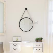 스트랩원형 거울 3color