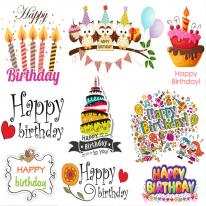 10%할인)3D전사지]생일기념일-1 (99841)