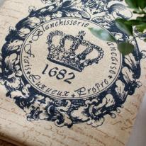 대폭린넨]고딕왕관80339
