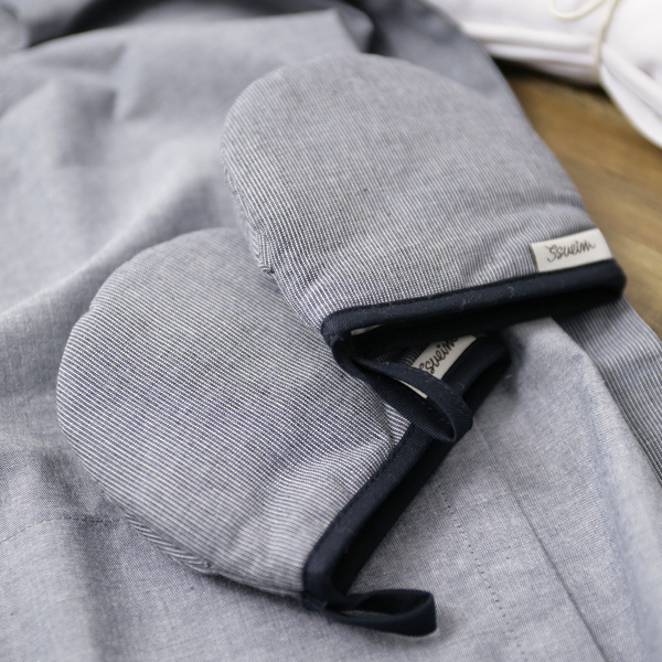 폴스네이비 미니주방장갑
